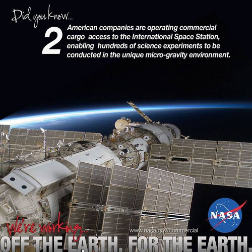 "Campagna Nasa ""off the earth, for the earth"""